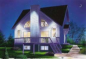 Four-Season Cottage 1148 sq. ft.; 1 Bedroom; 2 Baths   This stunning country cottage has a heart of gold, with plenty of windows to bring in a wealth of natural light. Open planning allows the first-floor living and dining room to share the wide views of the outdoors.  National Average Cost to Build: $126,280.00